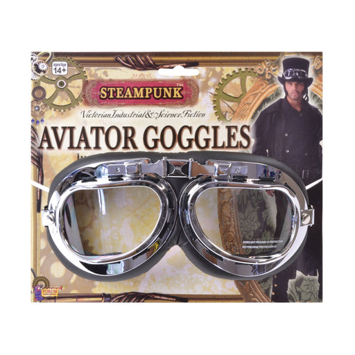 Steampunk Aviator Goggles - The Ultimate Party Shop