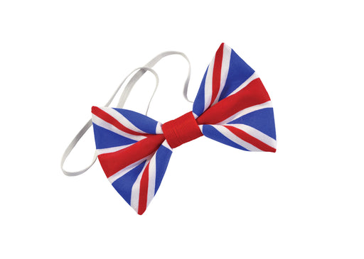 Bow Tie/Hair Bow - Union Jack - The Ultimate Party Shop