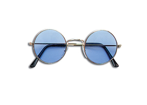 60's Lennon Sunglasses - Blue - The Ultimate Party Shop