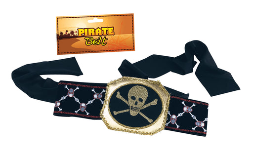 Skull & Crossbones Pirate Belt - The Ultimate Party Shop