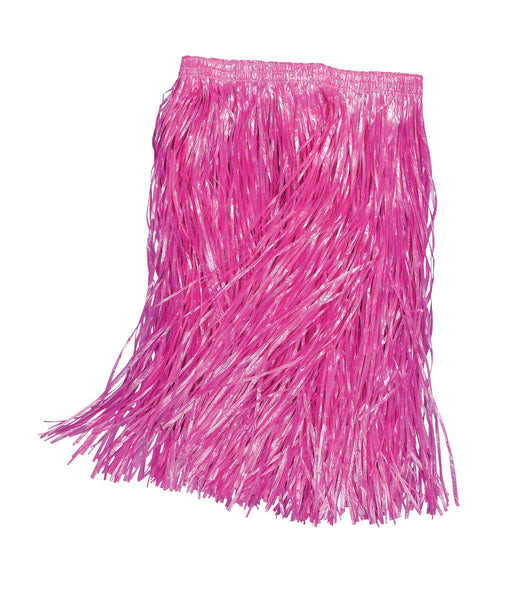 Pink Coloured Grass Skirt - The Ultimate Balloon & Party Shop