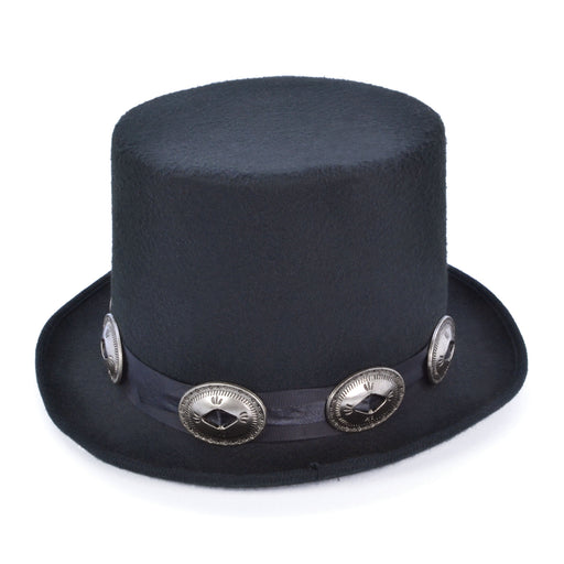 Black Rocker Top Hat - The Ultimate Party Shop