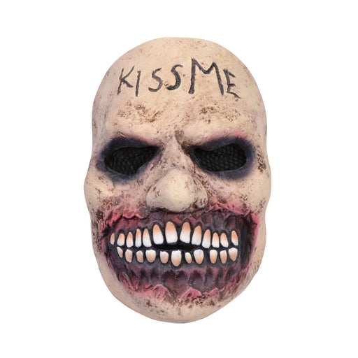 Grimace Kiss Mask (Purge) - The Ultimate Party Shop