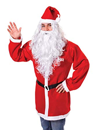 Santa Wig & Beard - The Ultimate Party Shop