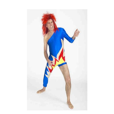 David Bowie Hire Costume - The Ultimate Party Shop