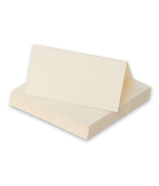 Place Cards - Ivory (Plain) - The Ultimate Balloon & Party Shop