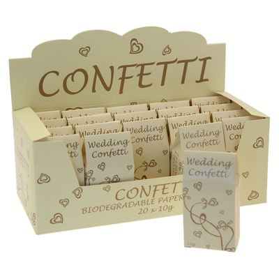 Wedding Confetti - Ivory - The Ultimate Balloon & Party Shop