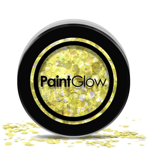 Cosmetic Chunky Glitter Pot - Gold Digger - The Ultimate Party Shop