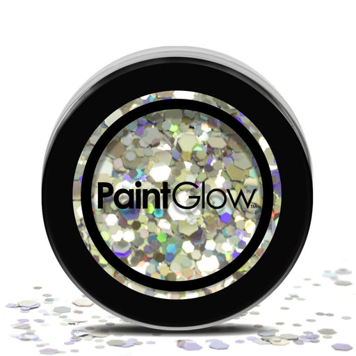 Cosmetic Chunky Glitter Pot - Disco Fever - The Ultimate Party Shop
