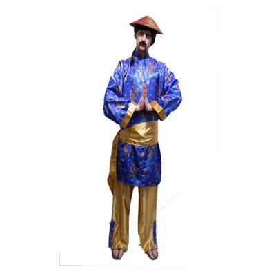 Oriental Man Hire Costume - The Ultimate Party Shop