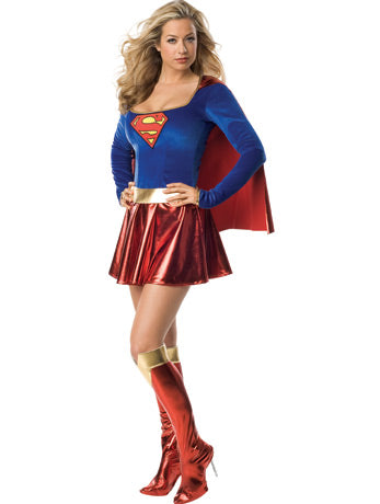 Classic Supergirl Hire Costume - The Ultimate Party Shop