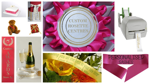 Personalised Ribbon Banners - The Ultimate Party Shop