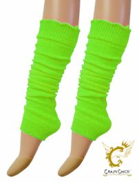Legwarmers neon green - The Ultimate Balloon & Party Shop