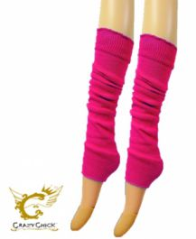 Legwarmers neon pink - The Ultimate Party Shop