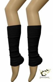 Legwarmers black - The Ultimate Balloon & Party Shop