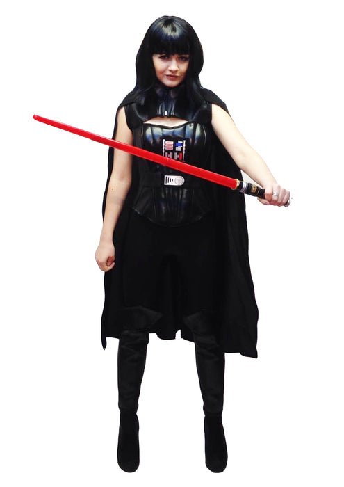 NEW Darth Space Villain Hire Costume - The Ultimate Party Shop