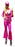1970s Disco Lady Hire Costume - Pink