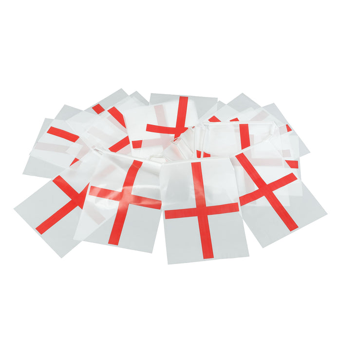 Flag Bunting - England 7m plastic - The Ultimate Party Shop