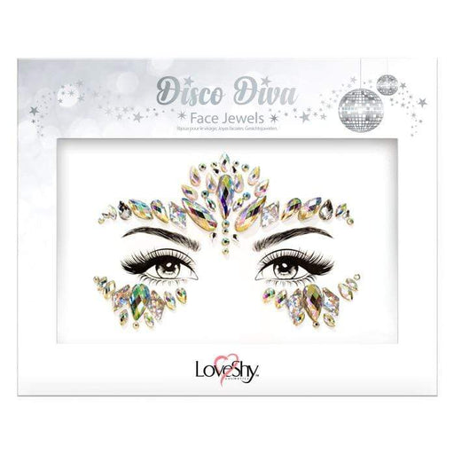Glitter Face Jewels - Disco Diva - The Ultimate Party Shop