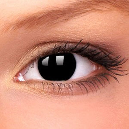 Black MIni Sclera Eye Accessories - 1 Day - The Ultimate Party Shop