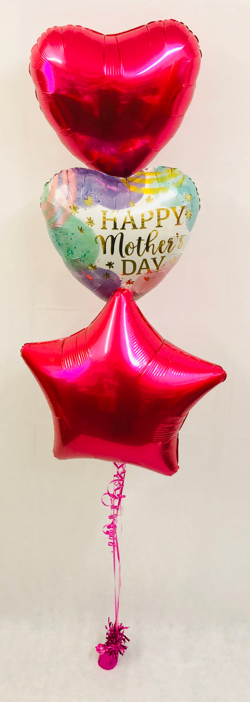 Mothers Day Balloon Display - Pink - The Ultimate Party Shop