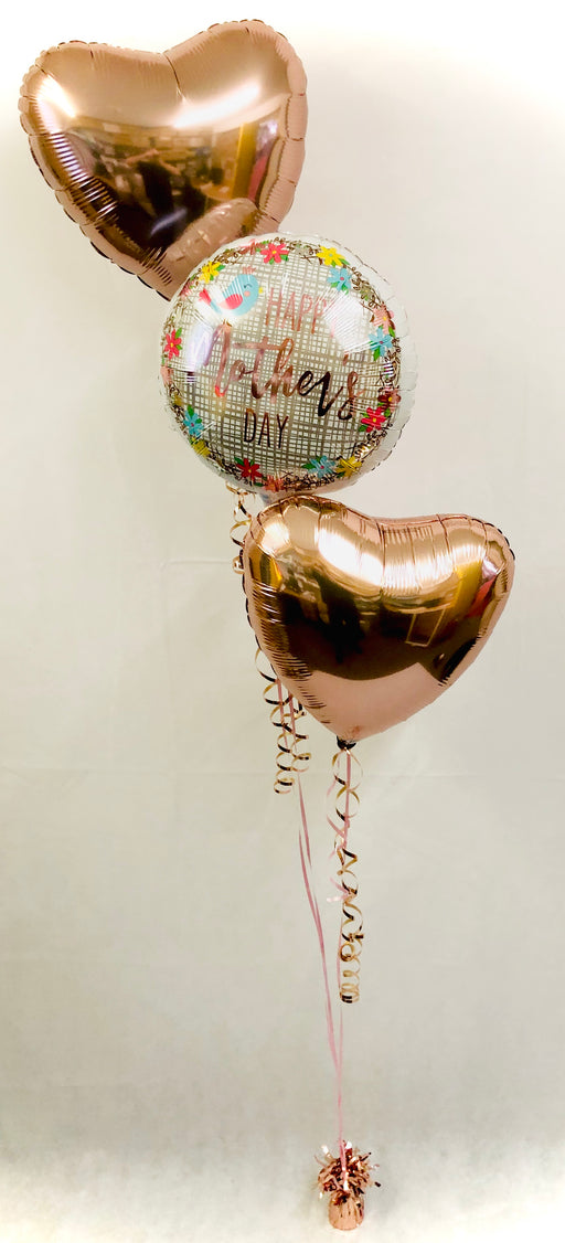 Mothers Day Balloon Display - Rose Gold - The Ultimate Party Shop