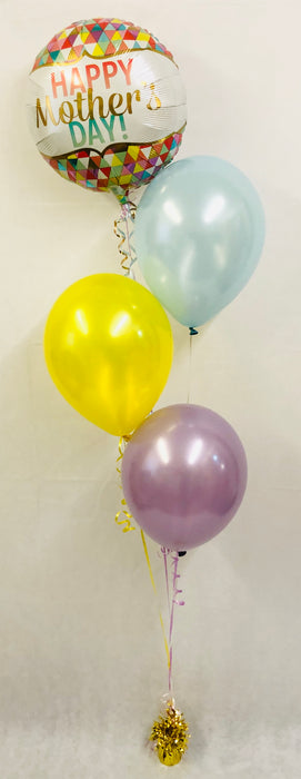 Mothers Day Balloon Display - Mix Bright - The Ultimate Balloon & Party Shop