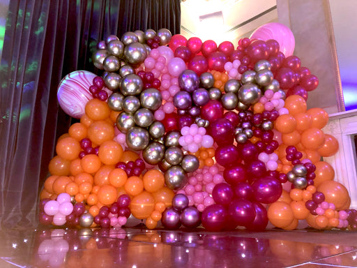 Decorative Organic Balloon Wall - The Ultimate Balloon & Party Shop