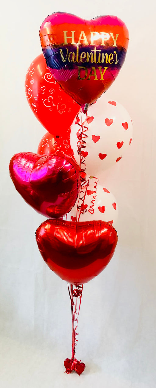 Valentine's Assorted Balloon Display - The Ultimate Party Shop