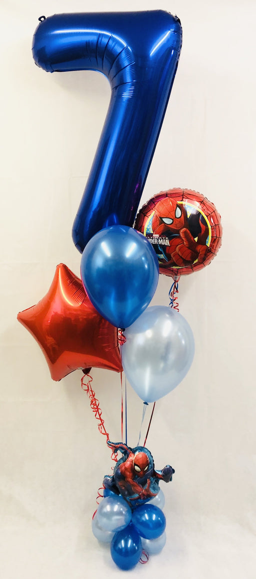 Spiderman Balloon Display - The Ultimate Party Shop