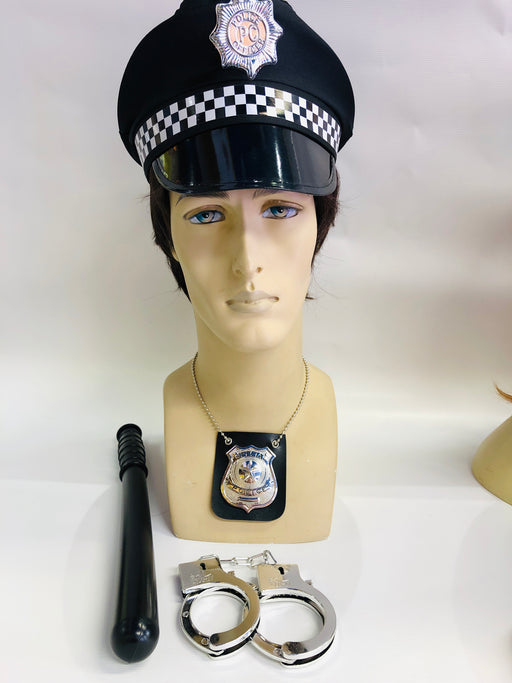 Male Police Instant Fancy Dress Set - The Ultimate Party Shop