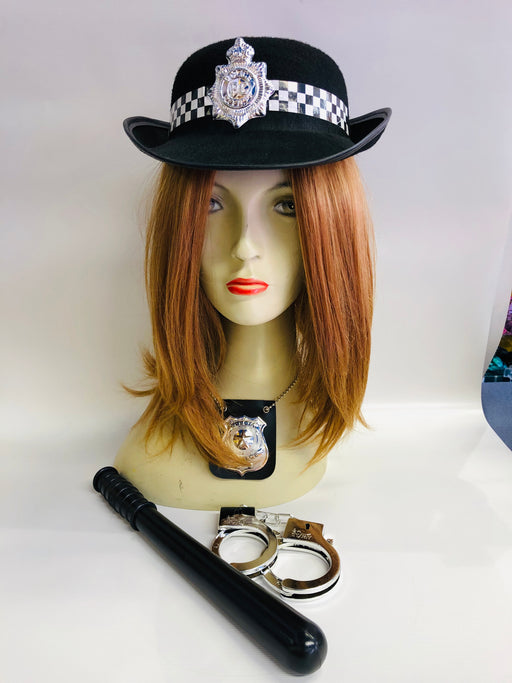 Female Police Instant Fancy Dress Set - The Ultimate Party Shop