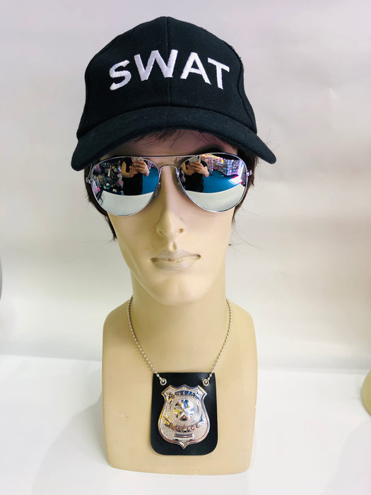 Swat Instant Fancy Dress Set - Male - The Ultimate Balloon & Party Shop