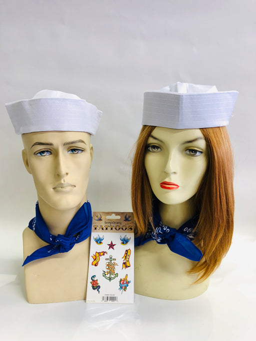 Sailor Instant Fancy Dress Set - The Ultimate Party Shop