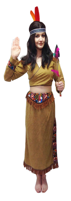 Indian Lady/Pocahontas Hire Costume