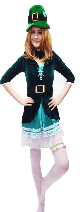EX Hire - Leprechaun Lady Costume - The Ultimate Balloon & Party Shop