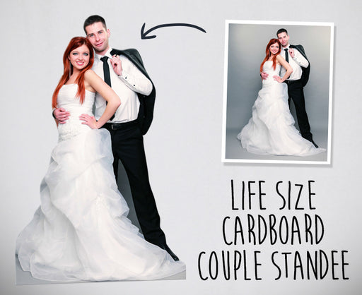 Personalised Life Size Cutout - Couple - The Ultimate Party Shop