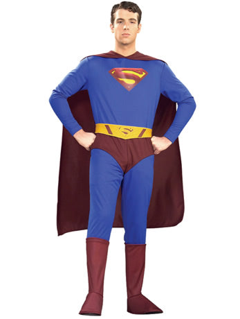 Superman Returns Hire Costume - The Ultimate Party Shop