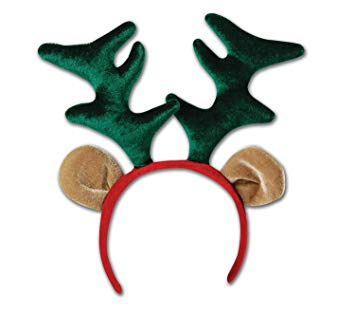 Reindeer Antler Headband - The Ultimate Balloon & Party Shop