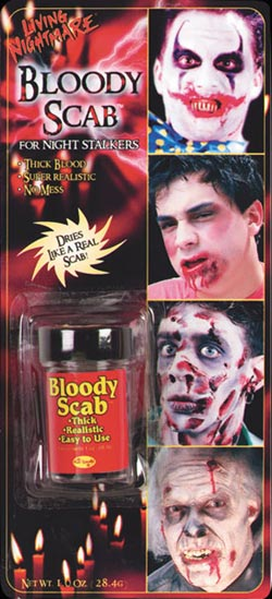 Fake Blood - Bloody Scab - The Ultimate Balloon & Party Shop