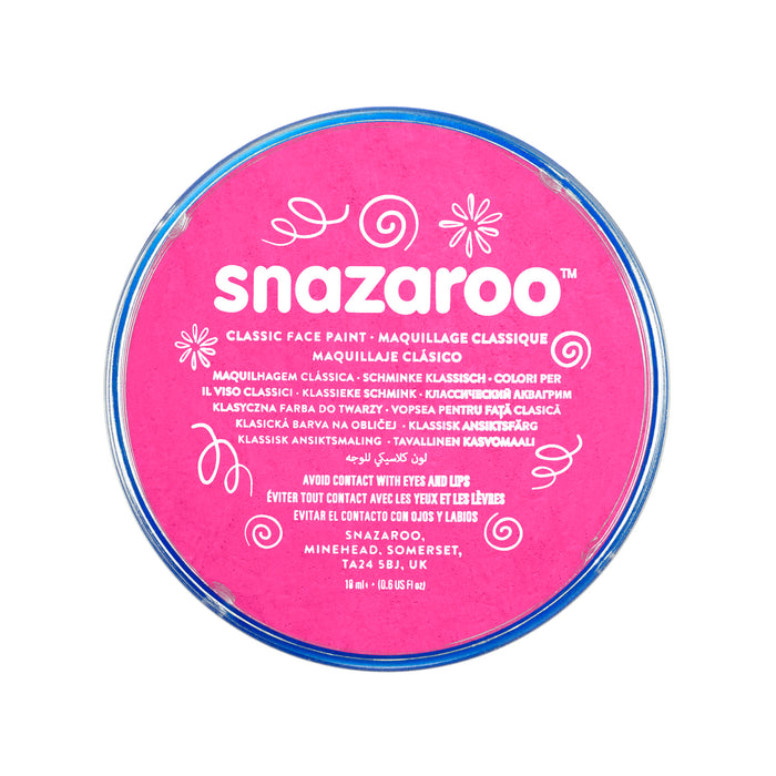 Snazaroo Face Paint - Pink - The Ultimate Balloon & Party Shop