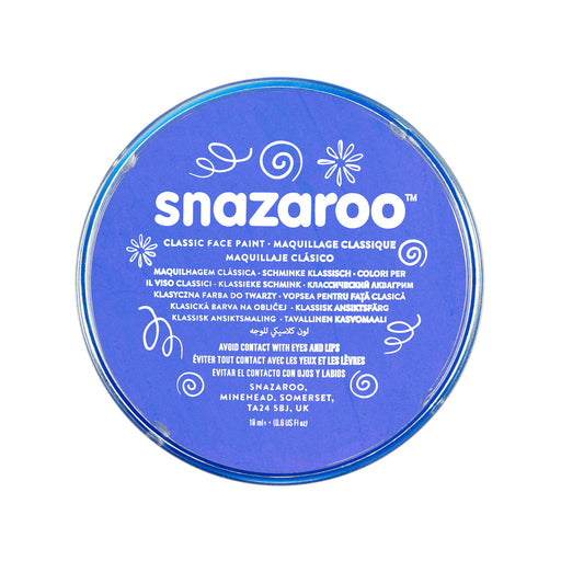Snazaroo Face Paint - Blue - The Ultimate Balloon & Party Shop