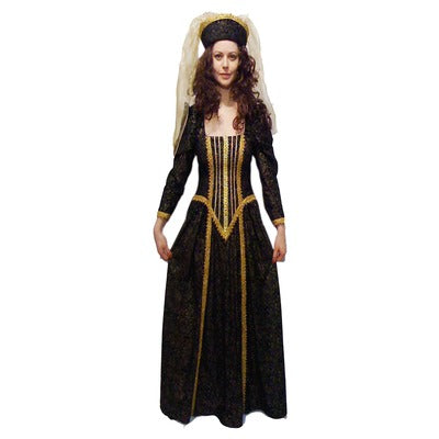 Anne Boleyn/Medieval Queen Hire Costume