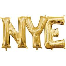 New Years Eve letters - The Ultimate Balloon & Party Shop