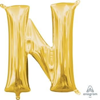 Letter N Foil Balloon - The Ultimate Balloon & Party Shop