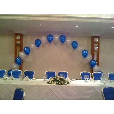 Top Table Pearl Archway Balloon Display - The Ultimate Party Shop