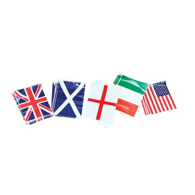 Flag Bunting - Various countries