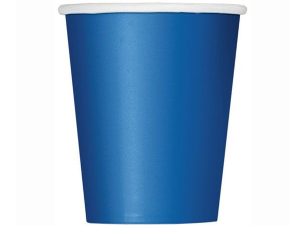 Paper Cups - Blue - The Ultimate Party Shop