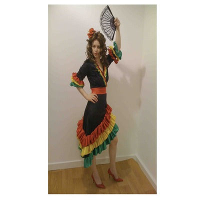 Rio/Carnival Lady Hire Costume - The Ultimate Party Shop