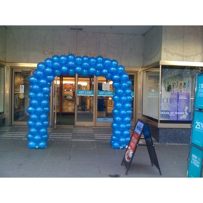 Spiral Arch Balloon Display - 1 Colour - The Ultimate Party Shop